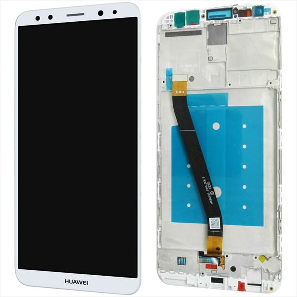 PANTALLA HUAWEI MATE 10 LITE BLANCA COMPLETA LCD + TACTIL CON MARCO RNE-L21