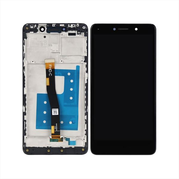 PANTALLA HUAWEI MATE 9 LITE NEGRA NEGRO COMPLETA LCD + TACTIL  CON MARCO